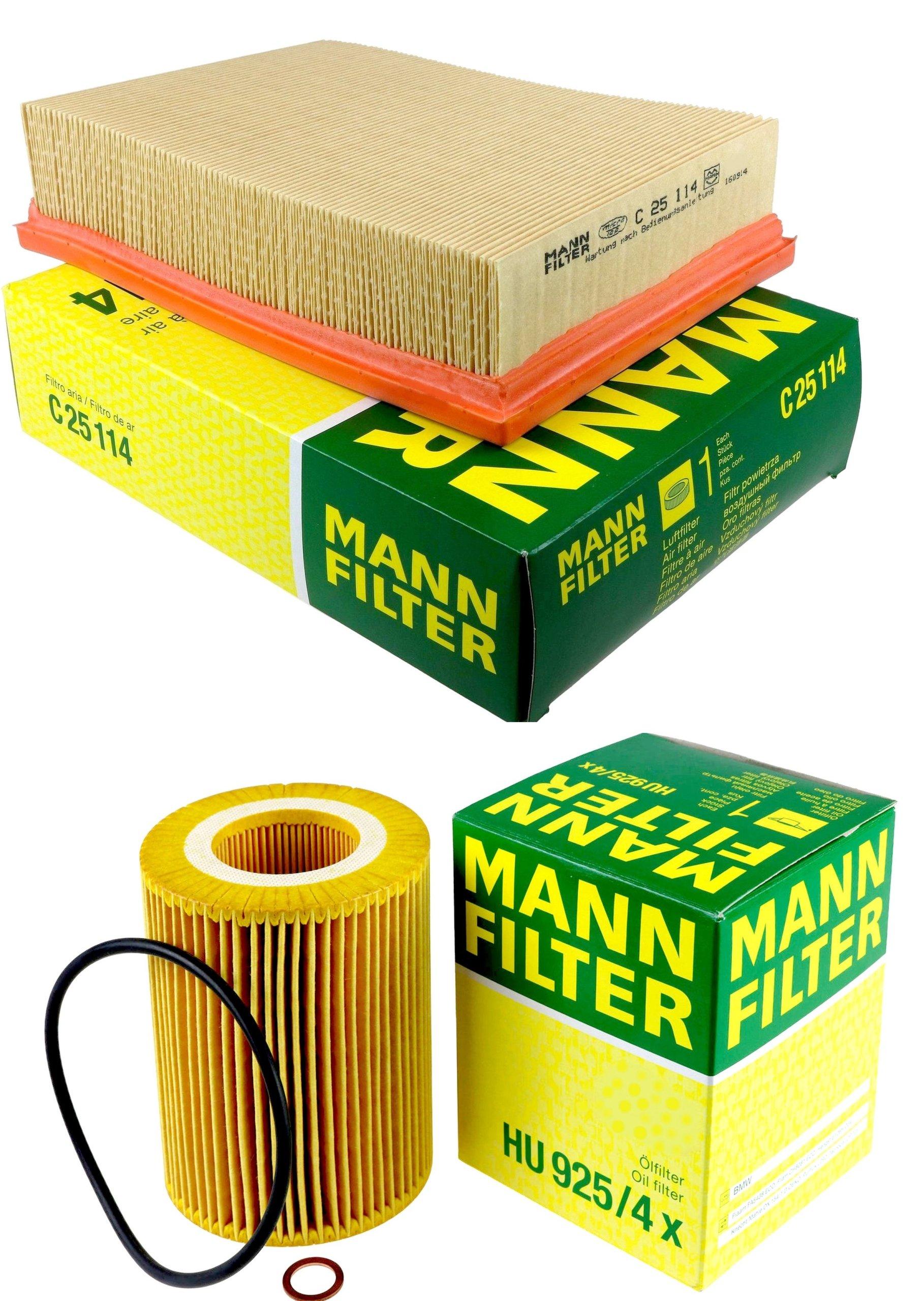 ÖLFILTER BMW MANN-FILTER HU925//4X