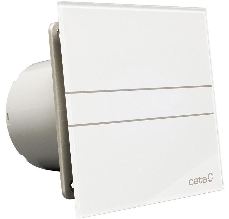 Kúpeľňový ventilátor E 100 GT Cata Timer Ticho