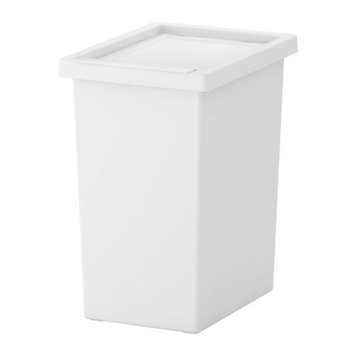 ИКЕА FILUR Корзина пластиковая с крышкой идет 42l