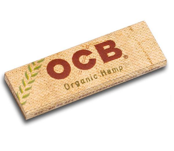 Bibułki bletki OCB Organic 50 bibułek