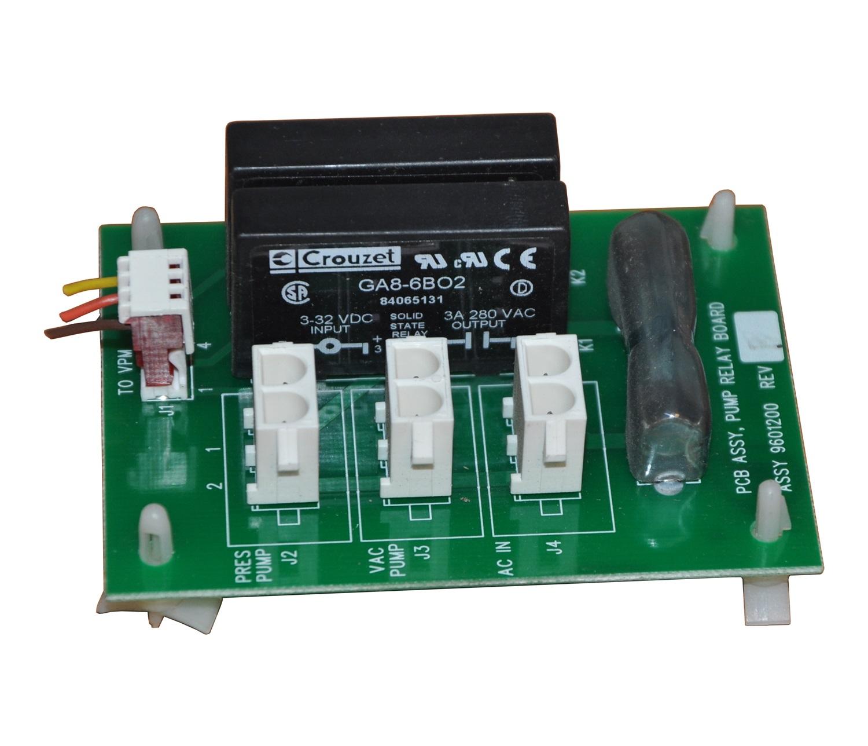 GA8-6BO2 CROUZET SSR 3A 280V X2PC. Modul PCB