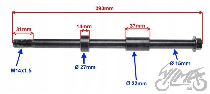OS RATO GALAS GALINIS 15 mm DO JUNAK 901 SPORT
