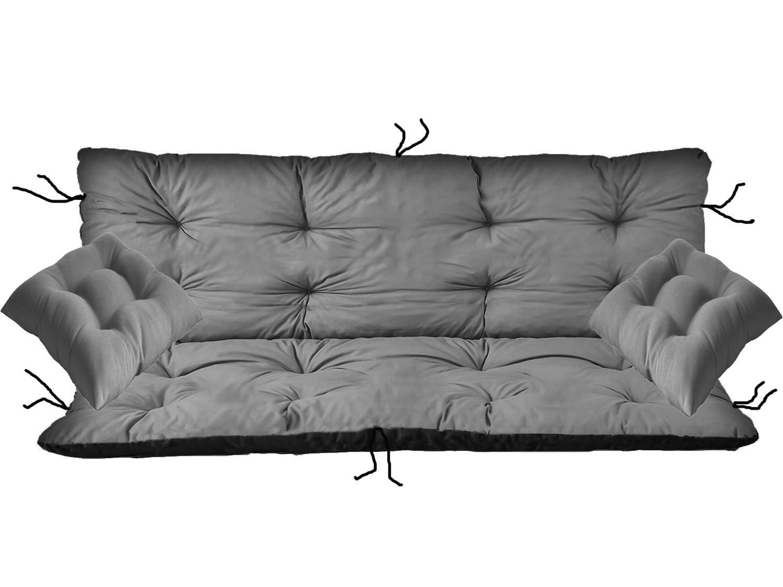 Подушка для качелей 100x60x50 + 2 x 38x38