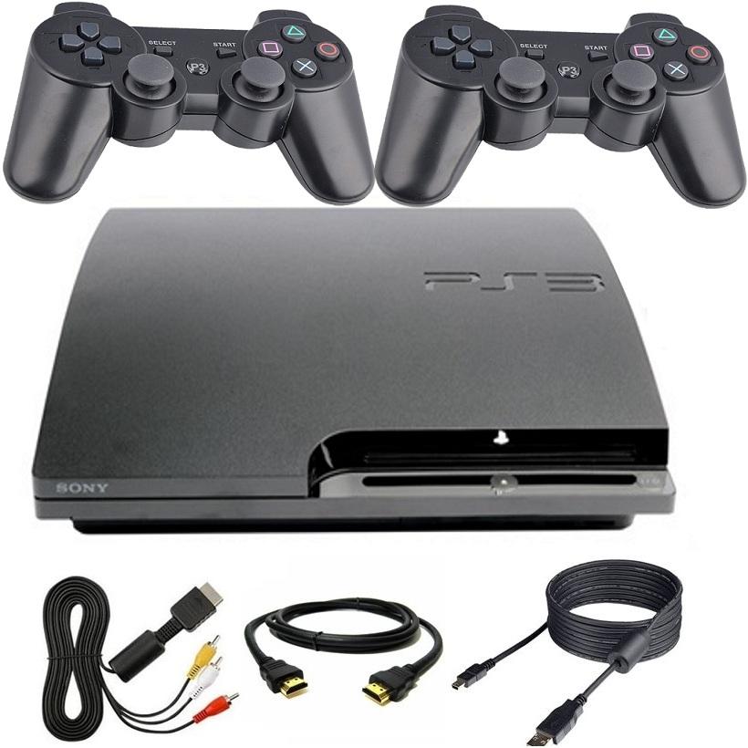 Playstation 3 PS3 160 GB + 2xPad + Zapojenie