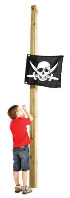 Vlajka na pirátskom ihrisku alebo princeznej