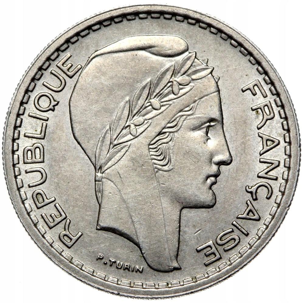 Francúzsko - mince - 10 Franks 1948 - Turín