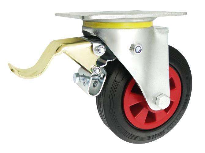 FI 160 Torzné kolesá s brzdou do 100 kg kolesového kolesa