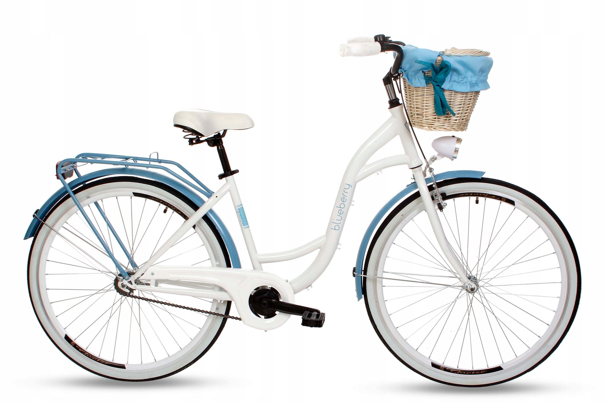 """Dámsky mestský bicykel Goetze BLUEBERRY 28 košík!  Veľkosť kolies ("""") 28"""