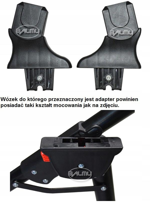 ADAPTERY DO FOTELIKA MAXI COSI, SAFETY I INNYCH Waga (z opakowaniem) 1 kg