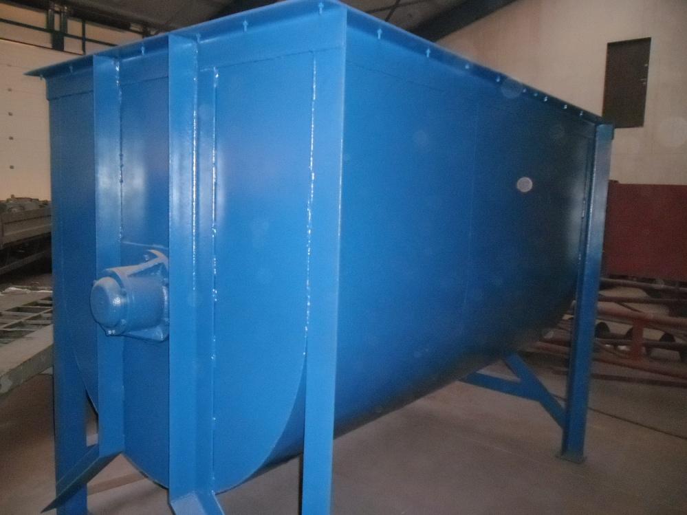 Mieszalnik pasz poziomy wstęgowy Ama 2x500kg