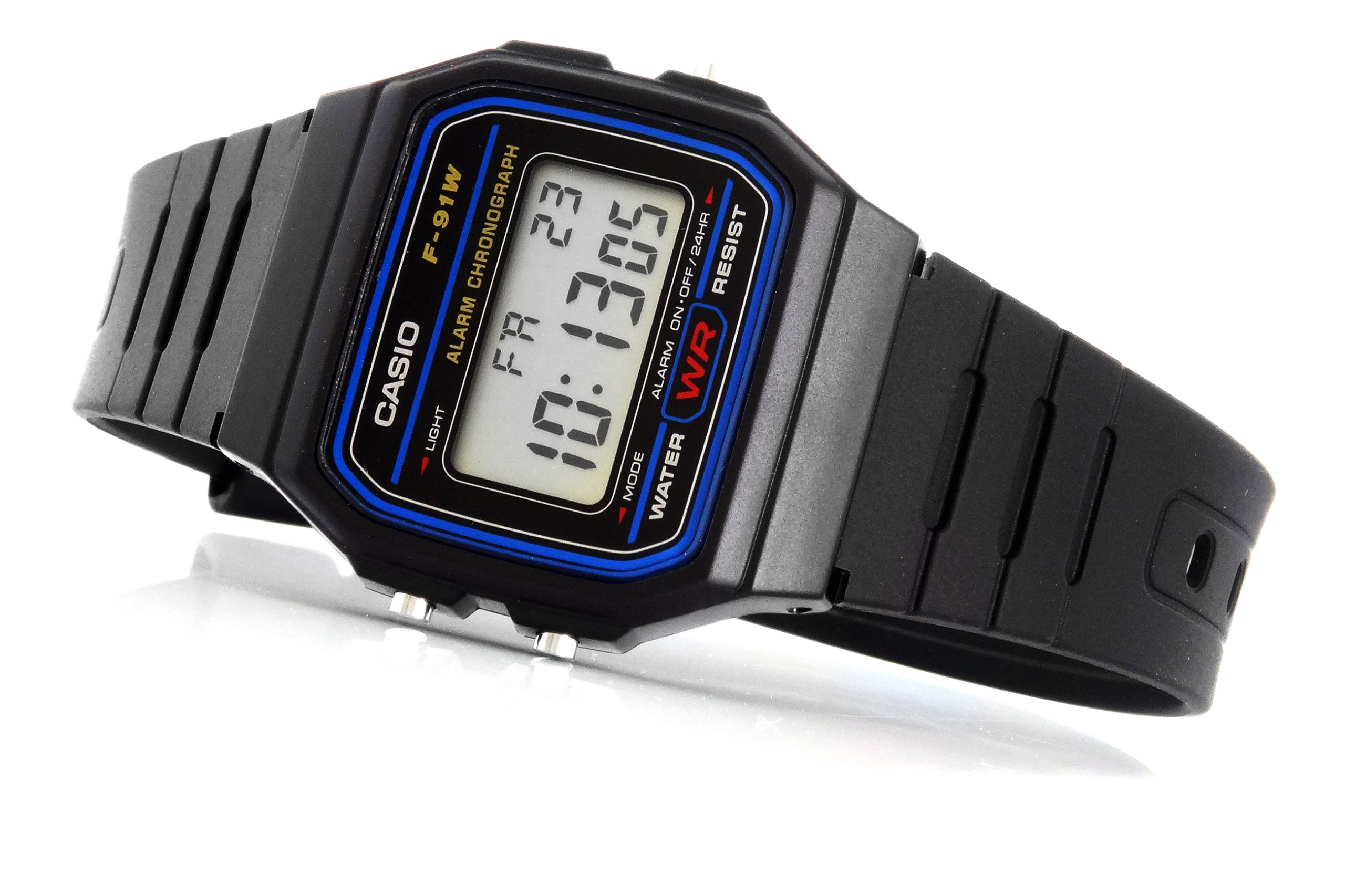 Item Electronic WATCH CASIO F-91 In a rush. 3 years