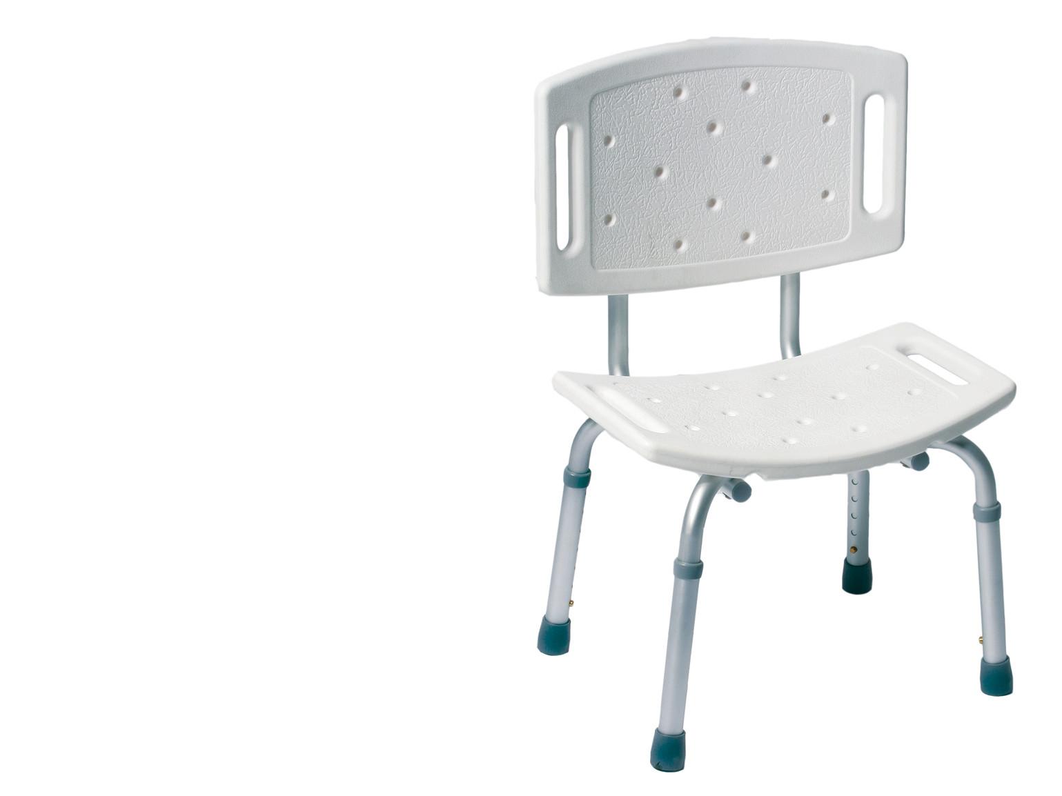 Taboret pod prysznic krzesło prysznicowe + oparcie