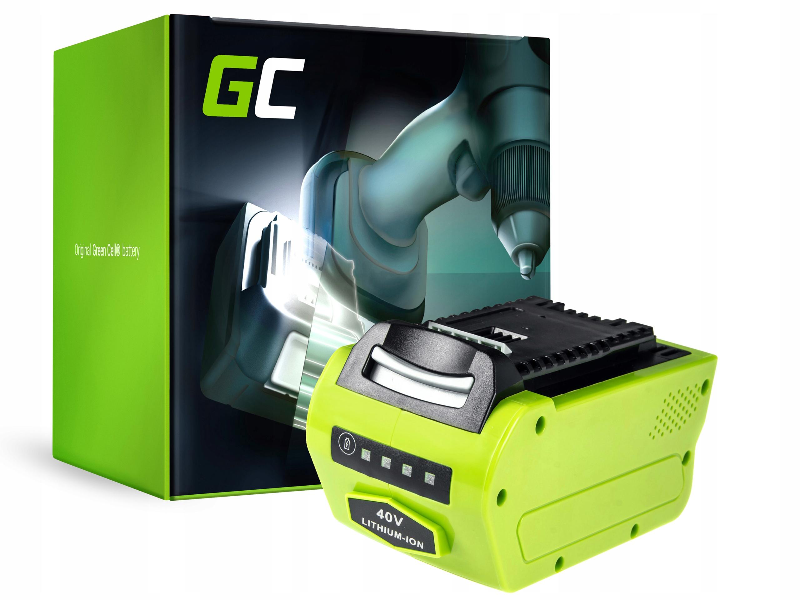 Batéria 40V 4Ah Batérie pre GreenWorks 25223
