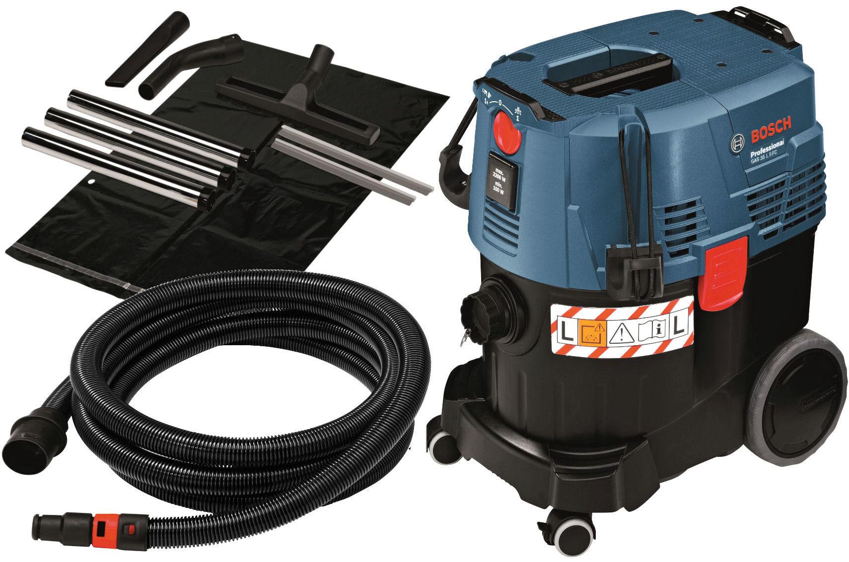 ПЫЛЕСОС ПРОМЫШЛЕННЫЙ GAS 35 L SFC+ Bosch