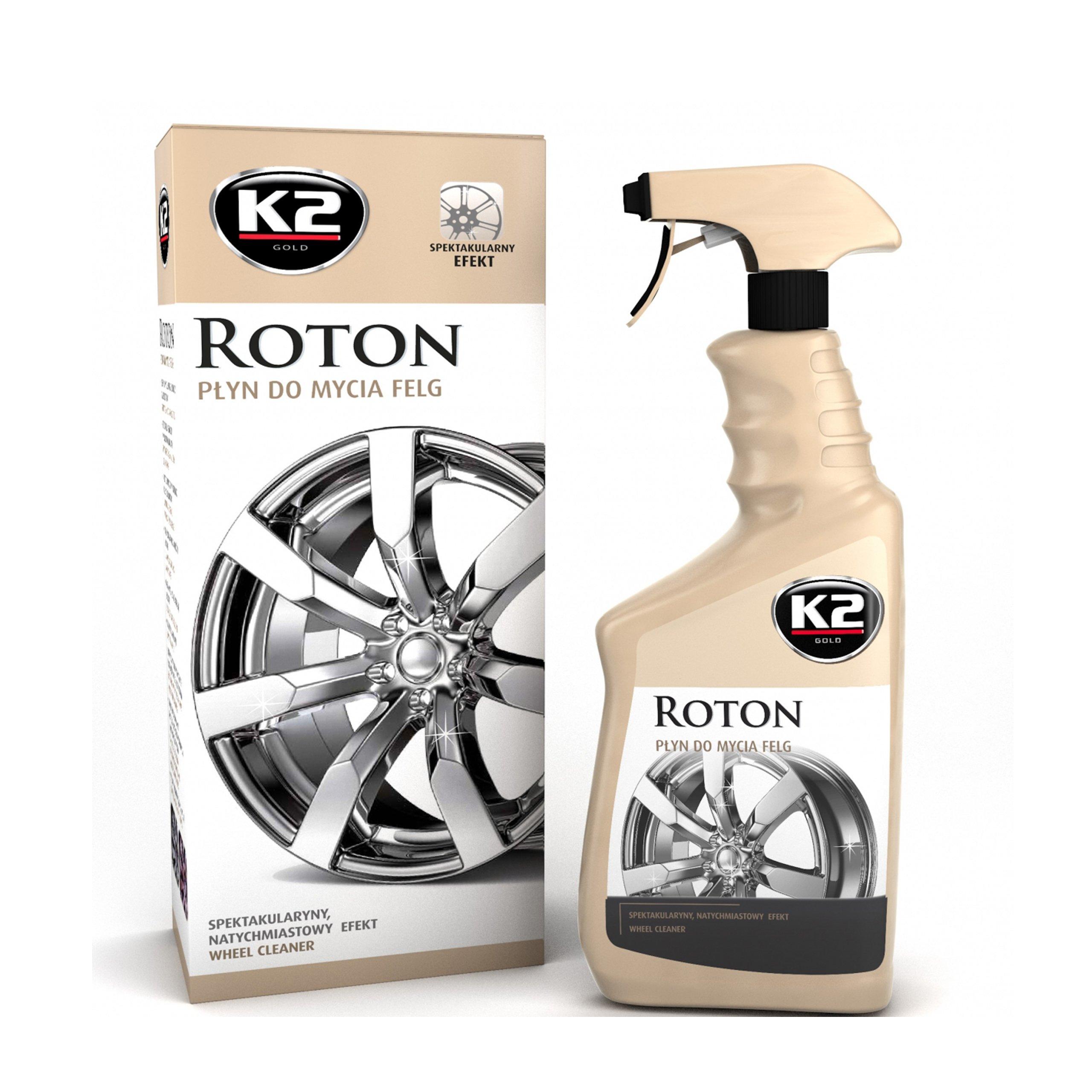 K2 ROTON Жидкость Для Мытья Дисков Эффект Кровотечения, 700 мл