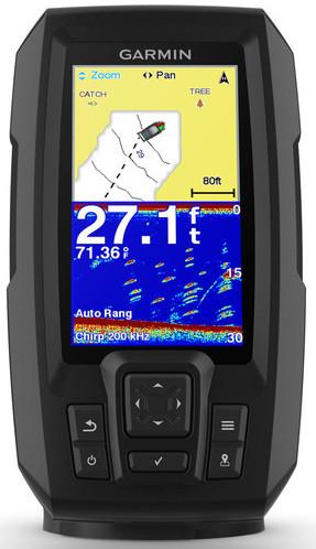 Echosonda s GPS Garmin Striker plus 4 Batametry