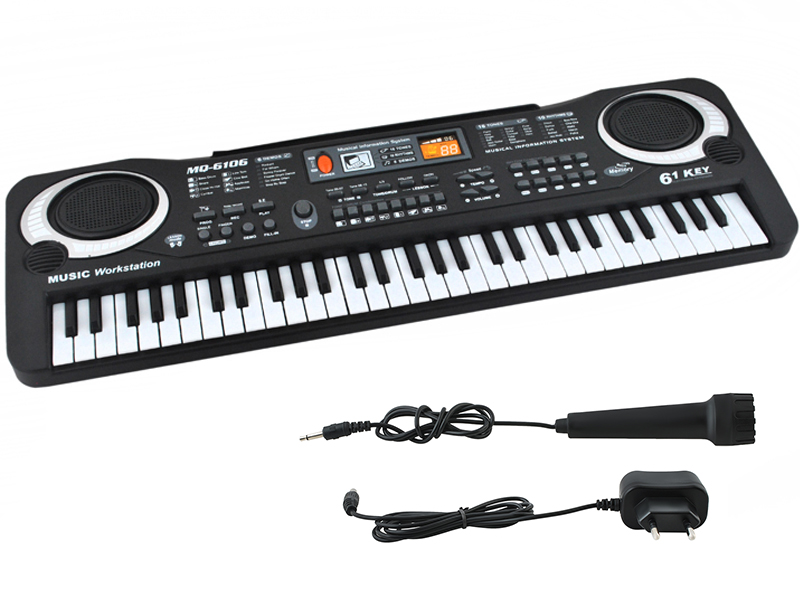 Item Keyboard Electronic Organs for the study of Microphone 61