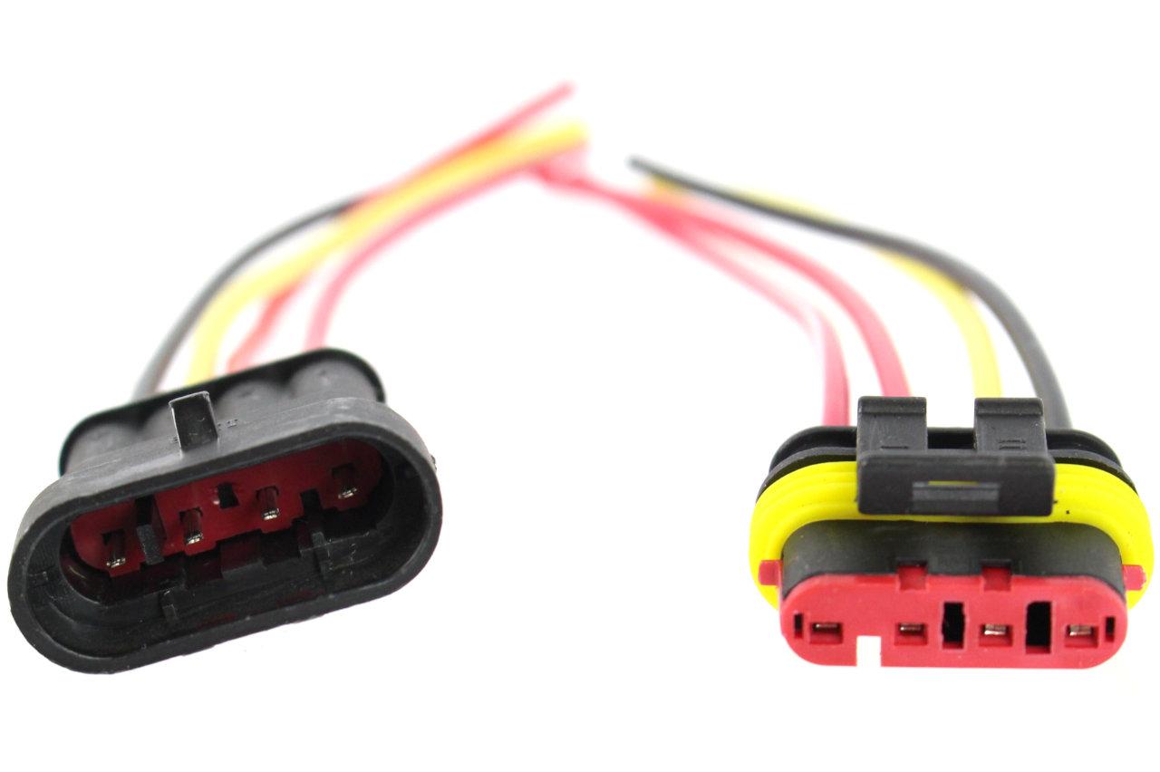 разъем герметичные superseal усилитель tyco 4 контакты 1 5mm