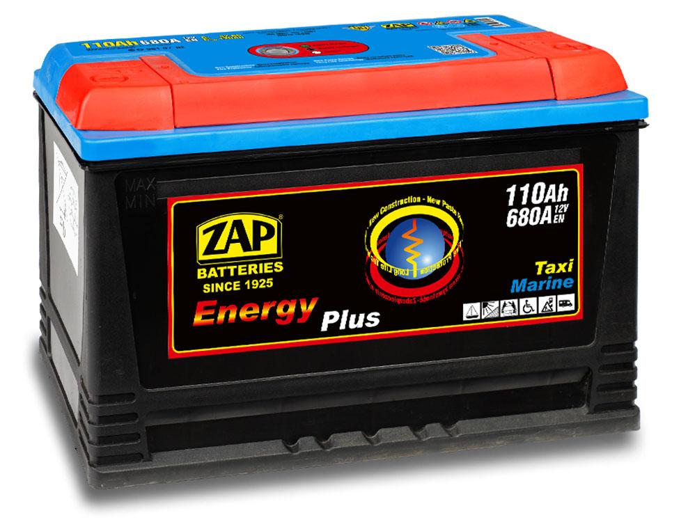 Akumulator ZAP ENERGY PLUS 110Ah MARINE CAMPER
