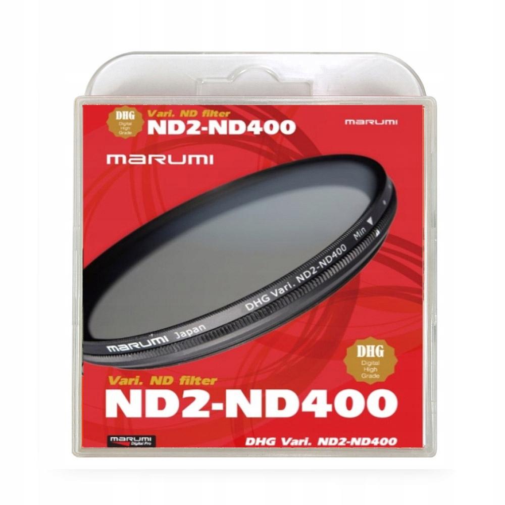 Marumi Šedá DHG Filter ND2-ND400 72mm Japonsko