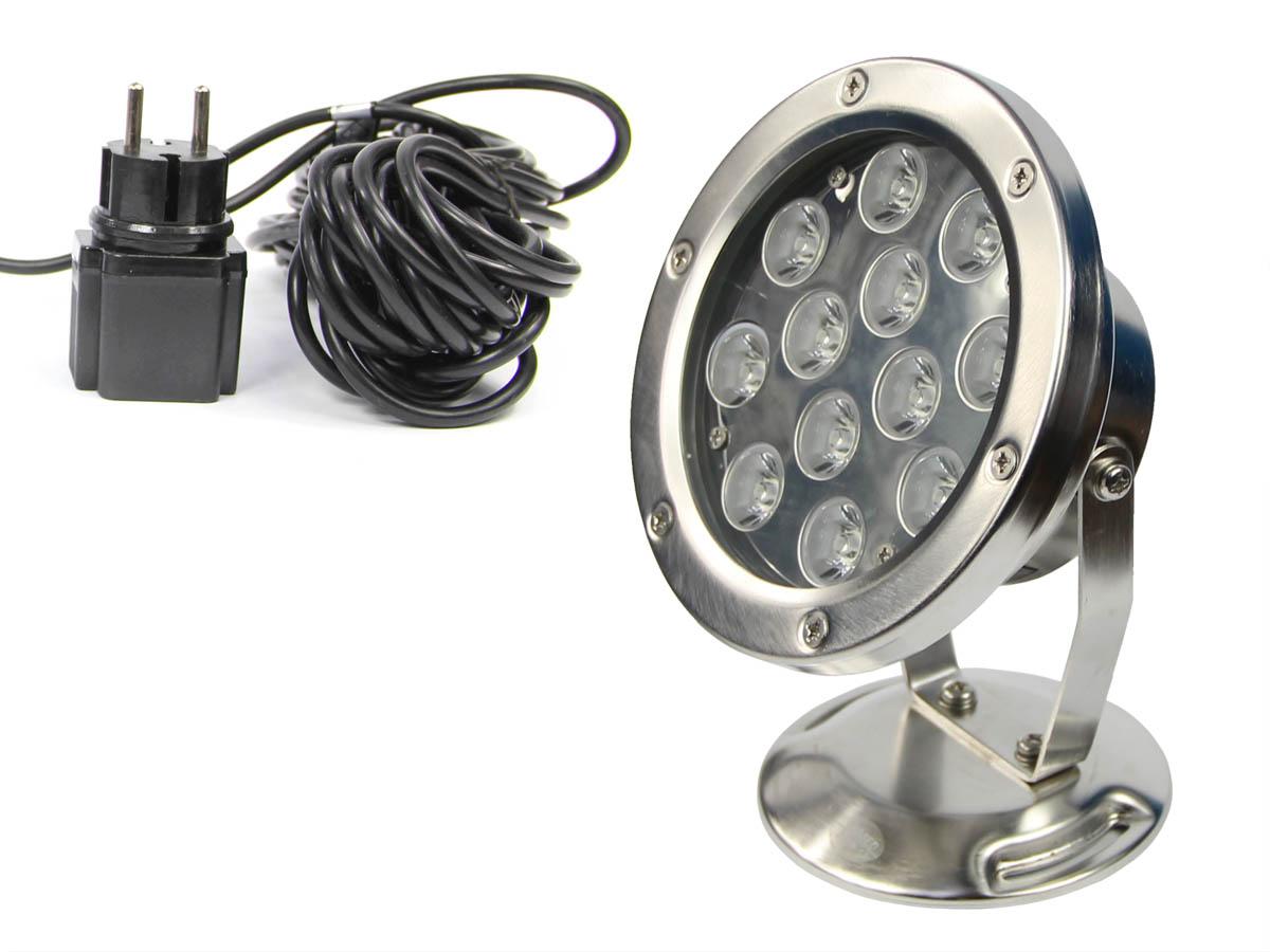 REFLEKTOR ZE STALI 12W LAMPA LED DO OCZKA QL-26