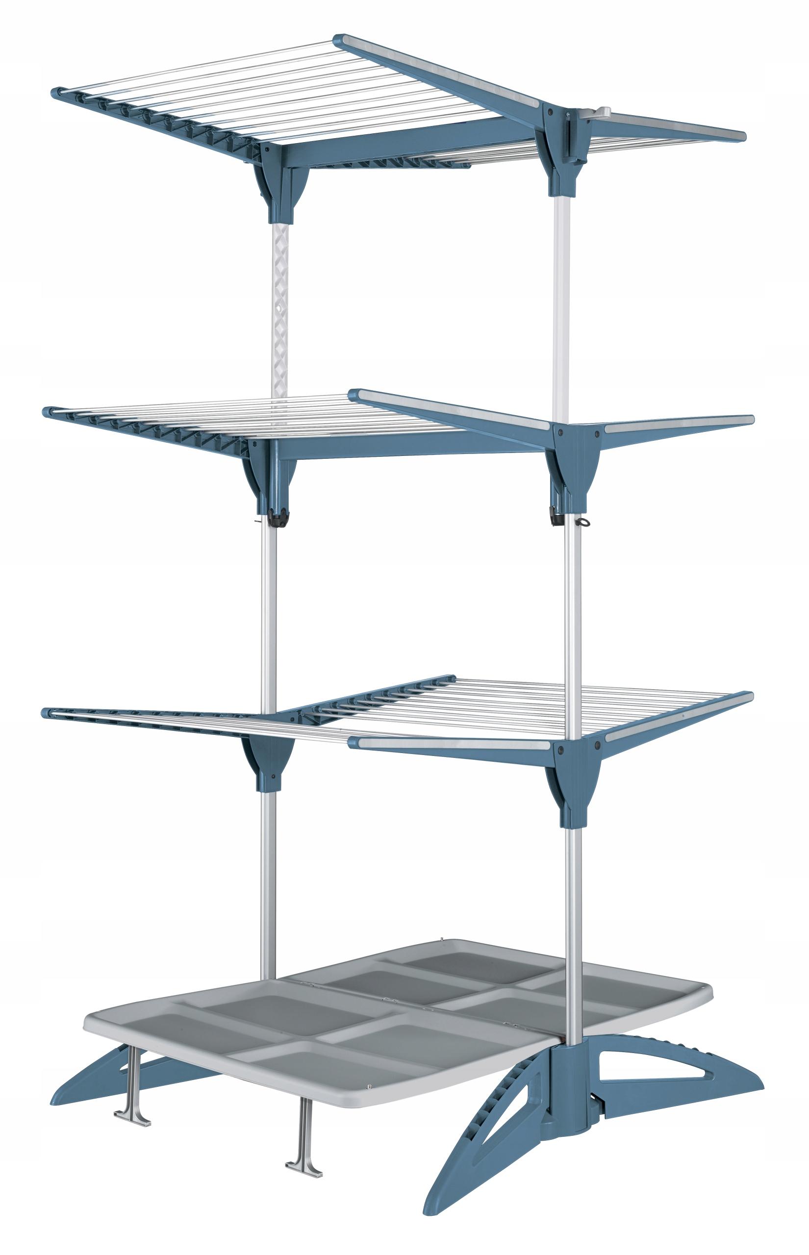 Вертикальная сушилка для мытья стоя на 45 м синего