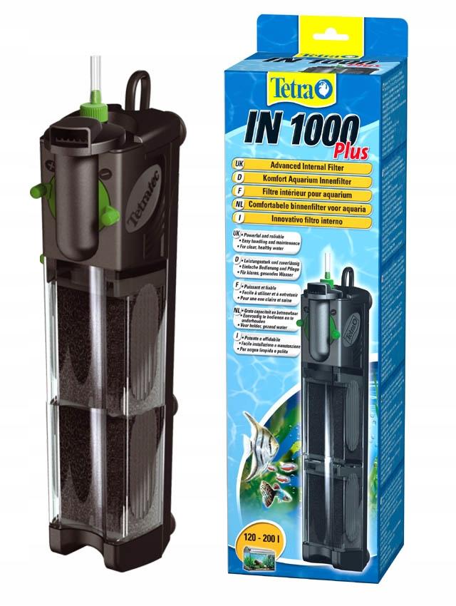 TETRA V 1000 l/h VNÚTORNÝ FILTER pre akvárium 120-200