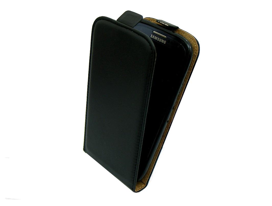ETUI GUMOWE Z KLAPKĄ Huawei P8 LITE ALE L21 czarny
