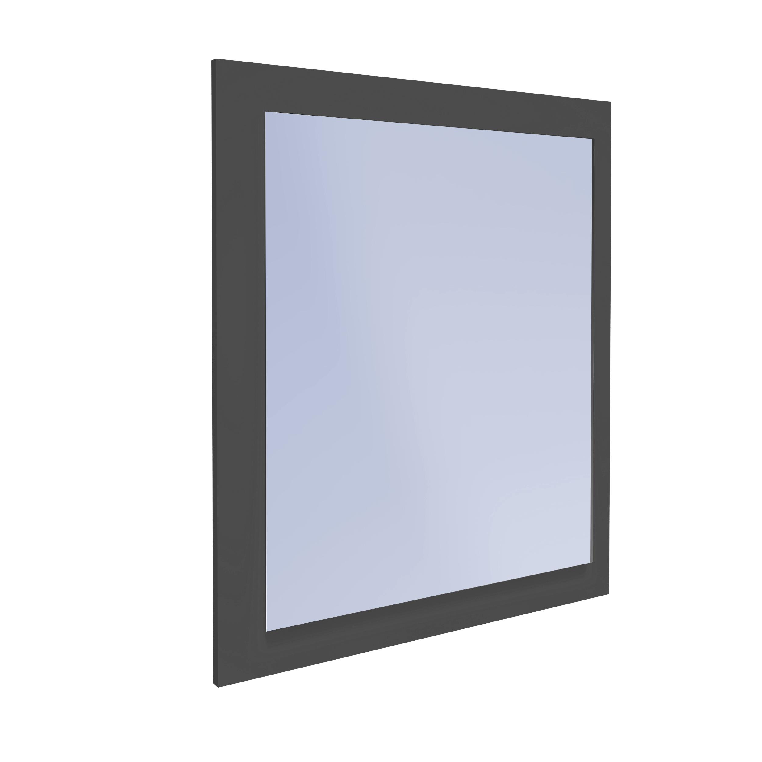 Zrkadlo pre kúpeľne na Palube IGA GRAFIT Obdĺžnikové
