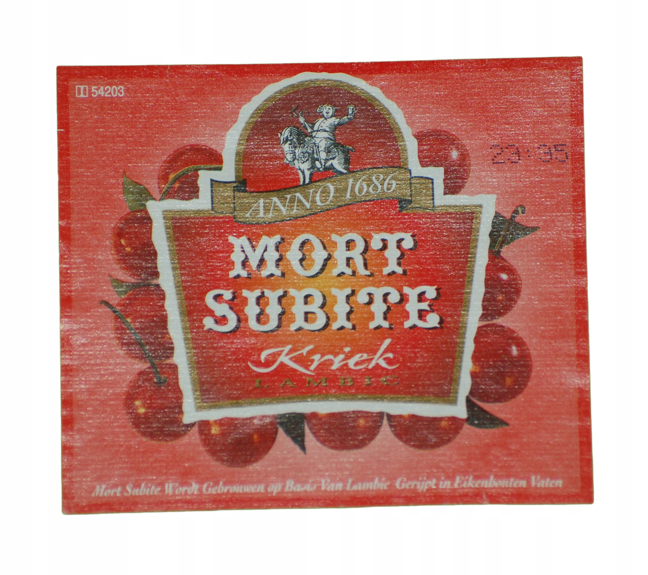 Купить LABEL MORT SUBITE BEER Бельгия на Otpravka - цены и фото - доставка из Польши и стран Европы в Украину.