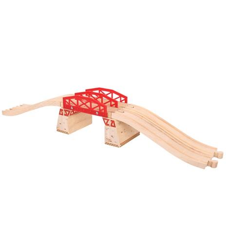 Bigjigs hračky dvojitý most