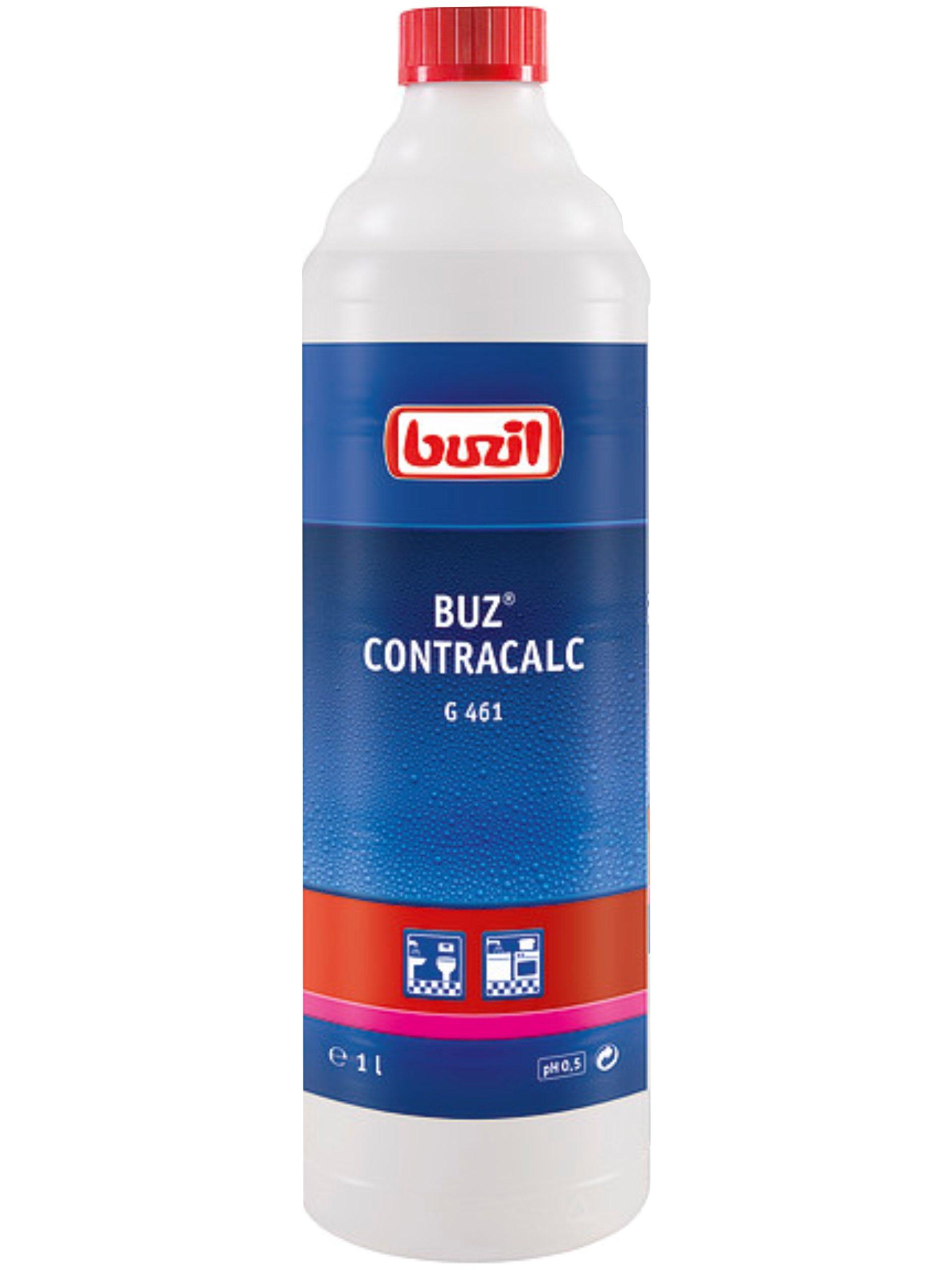 Odkamieniacz Buzil G461 do WC łazienki pływalni 1l