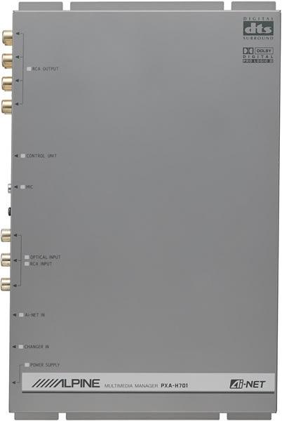 PROCESOR DŹWIĘKU ALPINE PXA-H701 KOMPLETNY