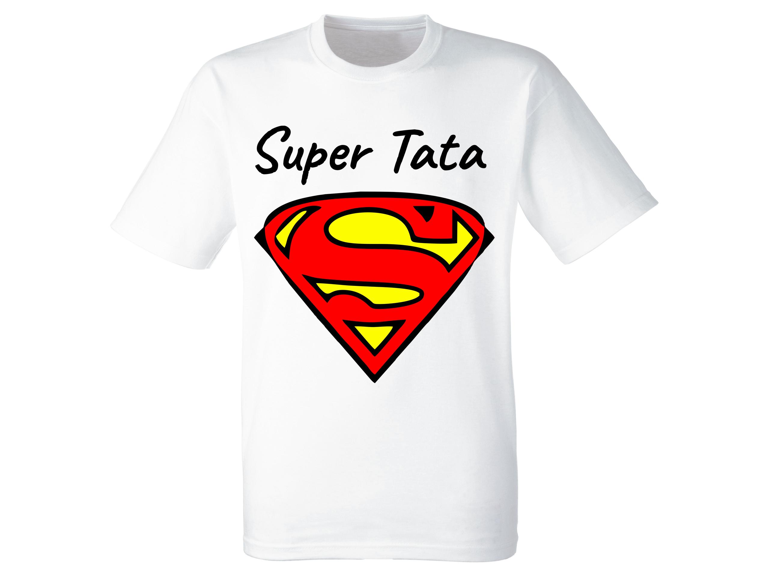 3cfed0142 Koszulka Dzień Ojca Biała Tata Superman Logo 3XL - 7324438109 - oficjalne  archiwum allegro