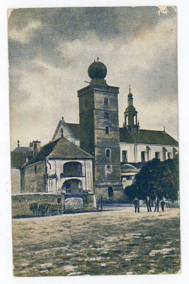 pocztówka MIECHÓW KLASZTOR 1915