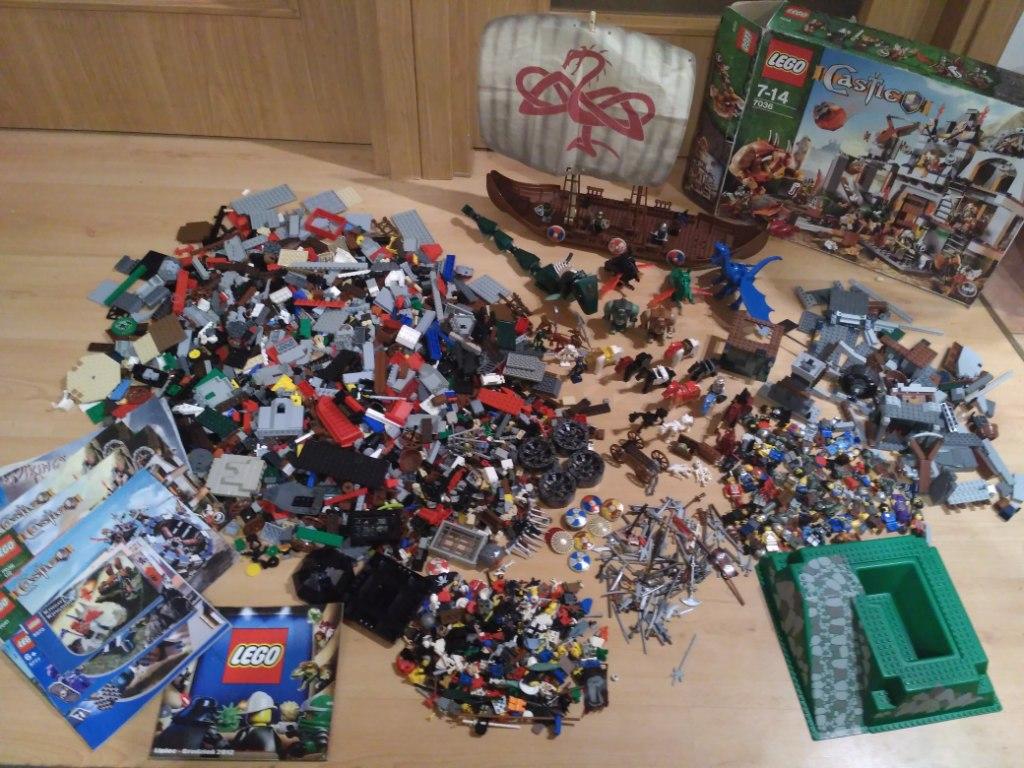 Ogromy Zestaw Lego Rycerze Castle Na Prezent 7091914815