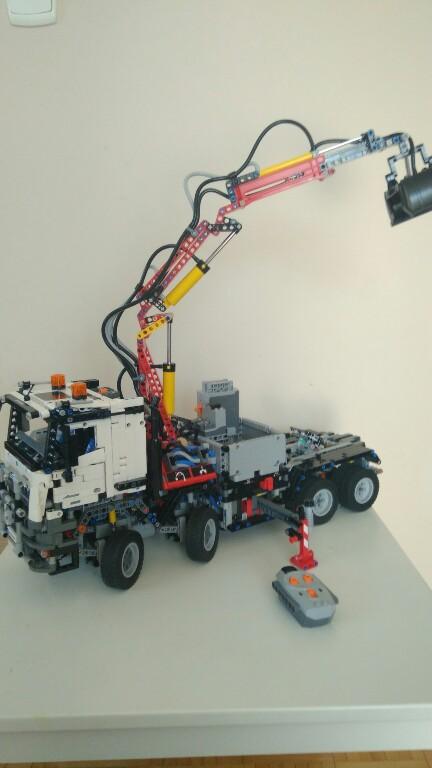 Lego Technic 42043 Zdalnie Sterowany Mercedes Rc 7345390981