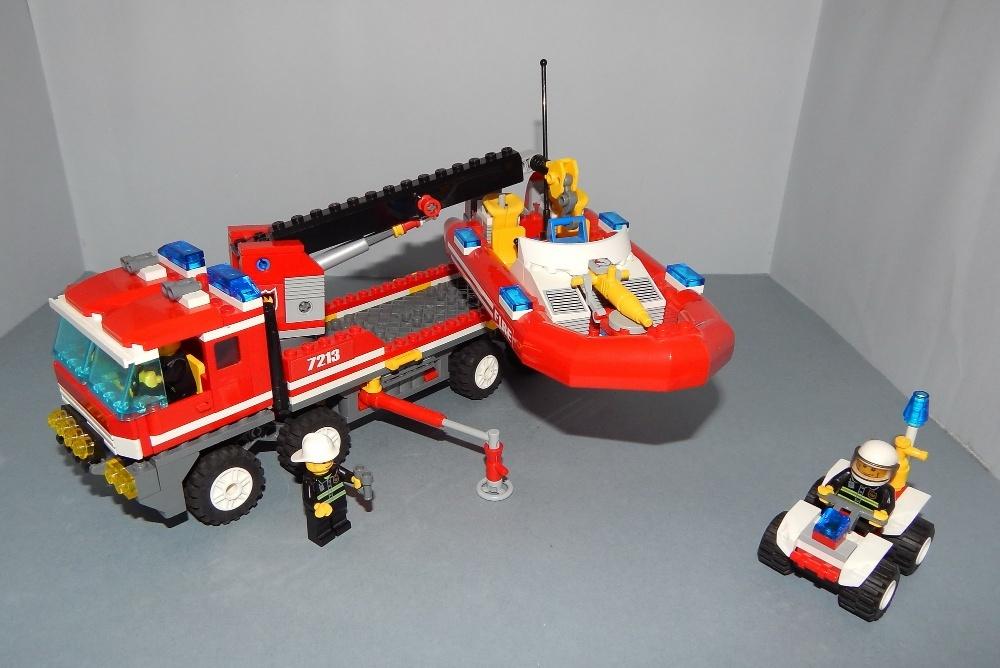 Lego City Straż Pożarna Ciężarówka I Quad Nr 7213 7258690550