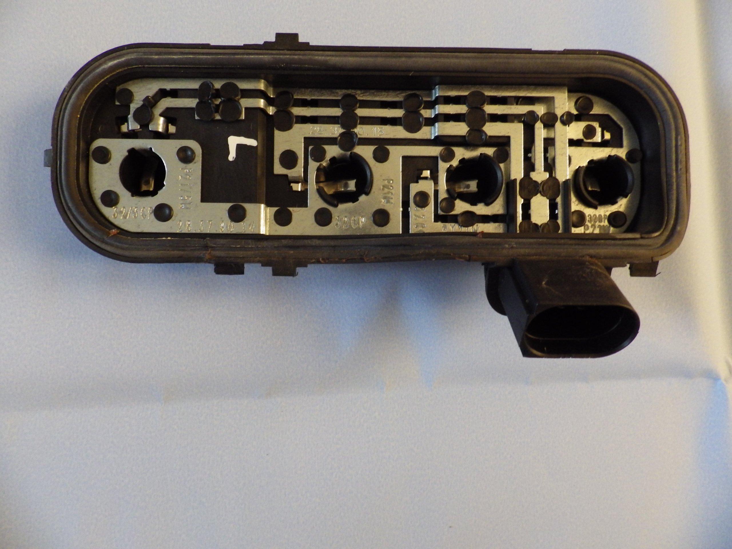 Wkład Lampy Lewy Tył Tylny Audi A4 B6 Avant Kombi 7193608562
