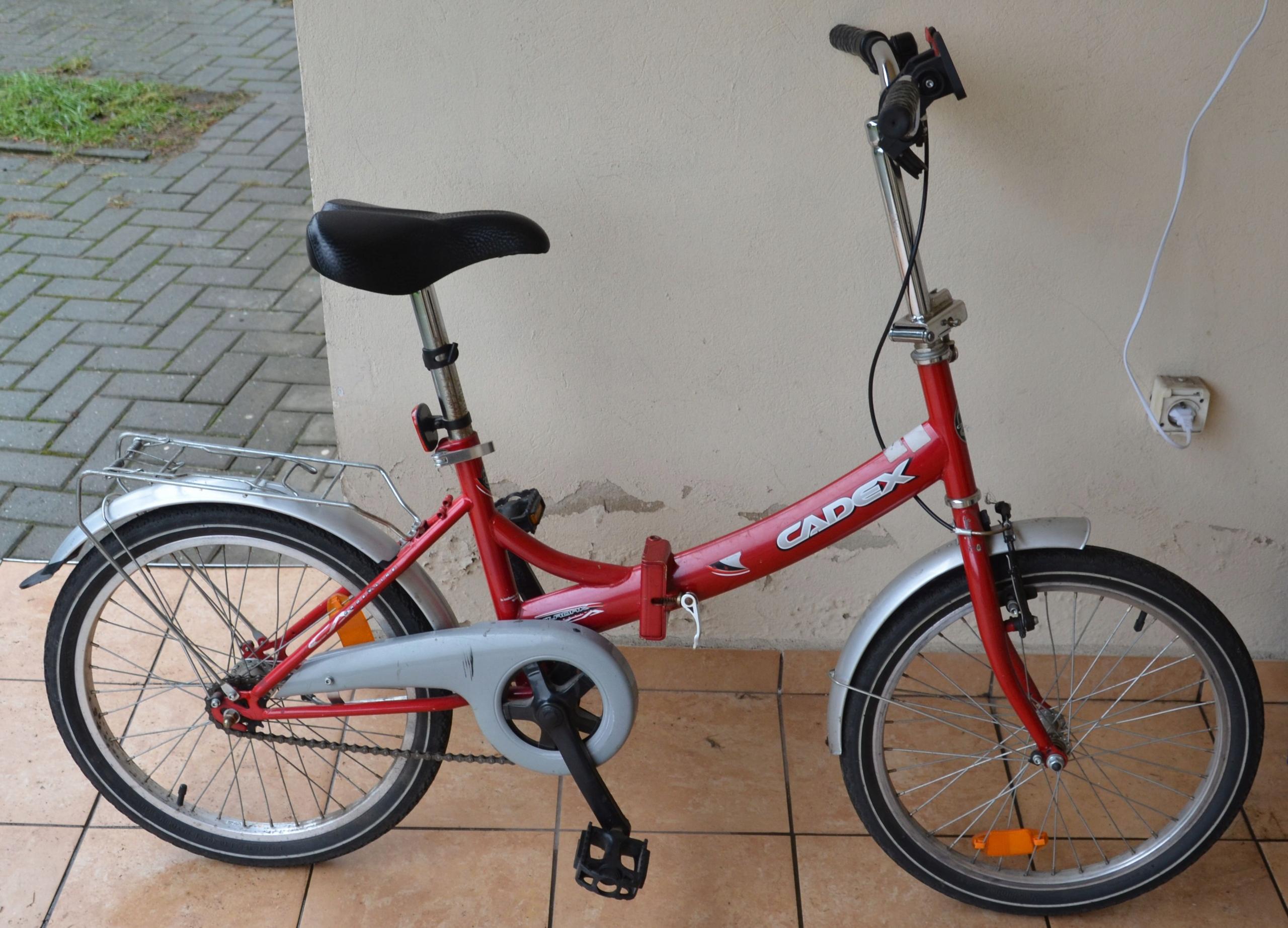 Rower młodzieżowy - składak