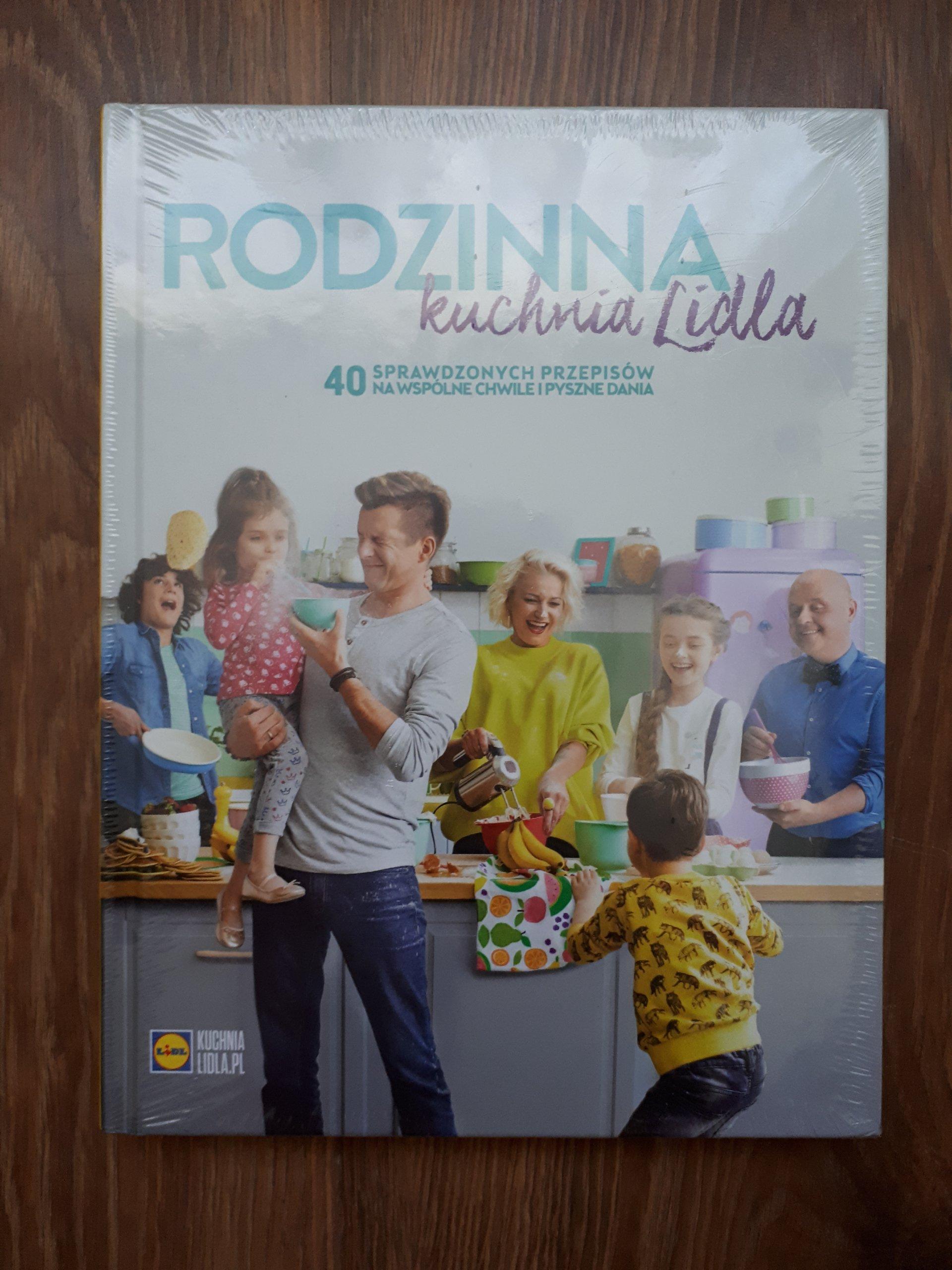 Rodzinna Kuchnia Lidla Ksiazka Lidl Przepisy Nowa 7379889812