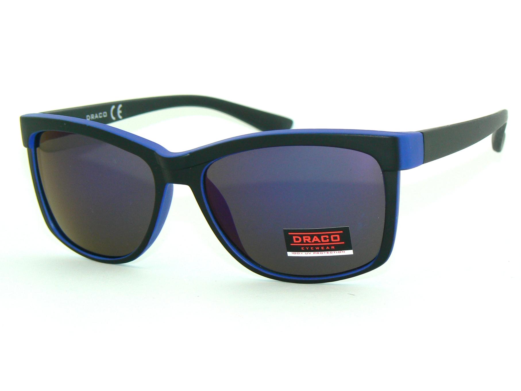 d1d79a55c4ea MODNE słoneczne OKULARY nerdy UV lustra DRACO mat - 7136680353 ...