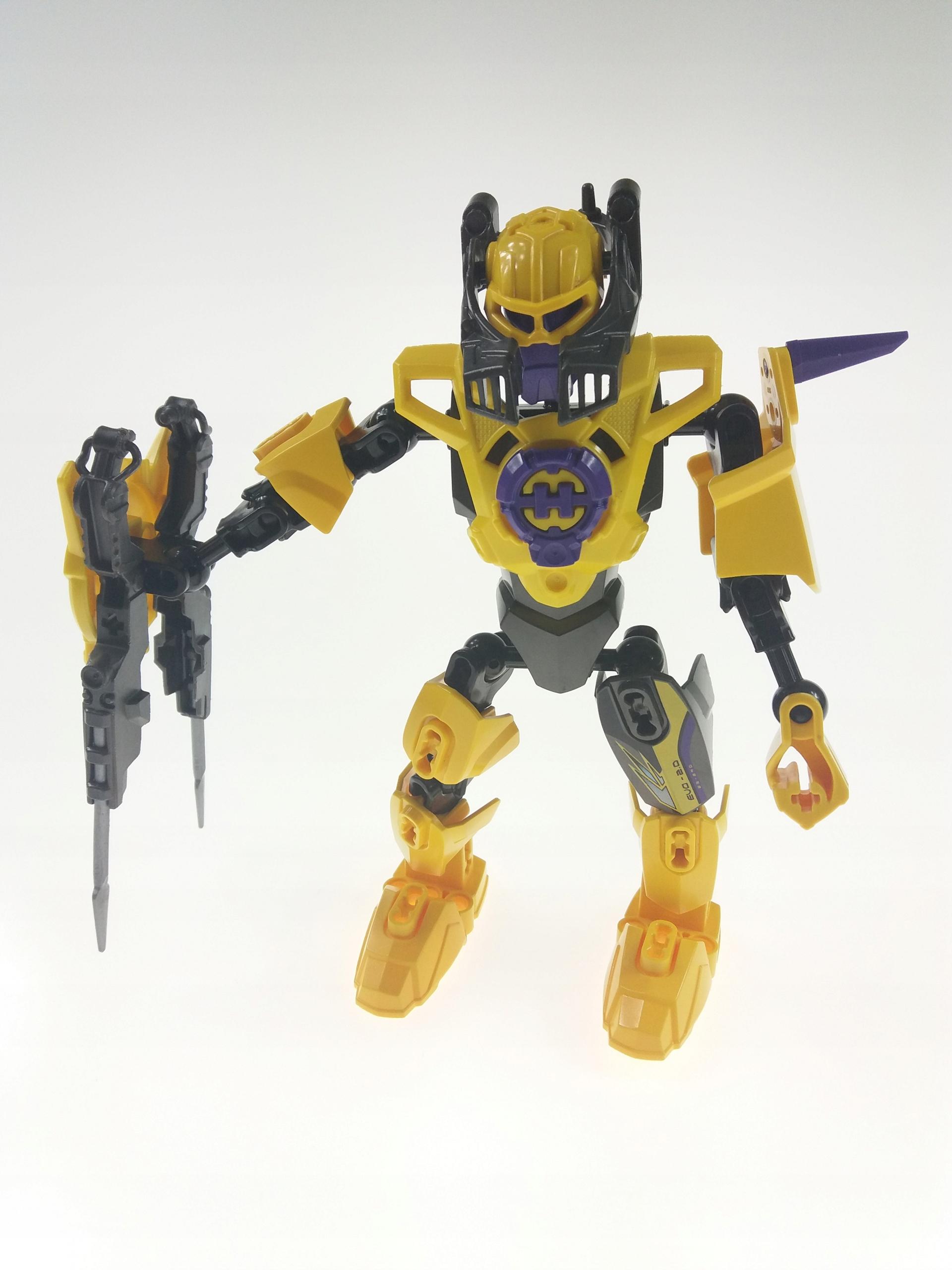 Lego Hero Factory 2067 Evo 20 Robot 7618136503 Oficjalne