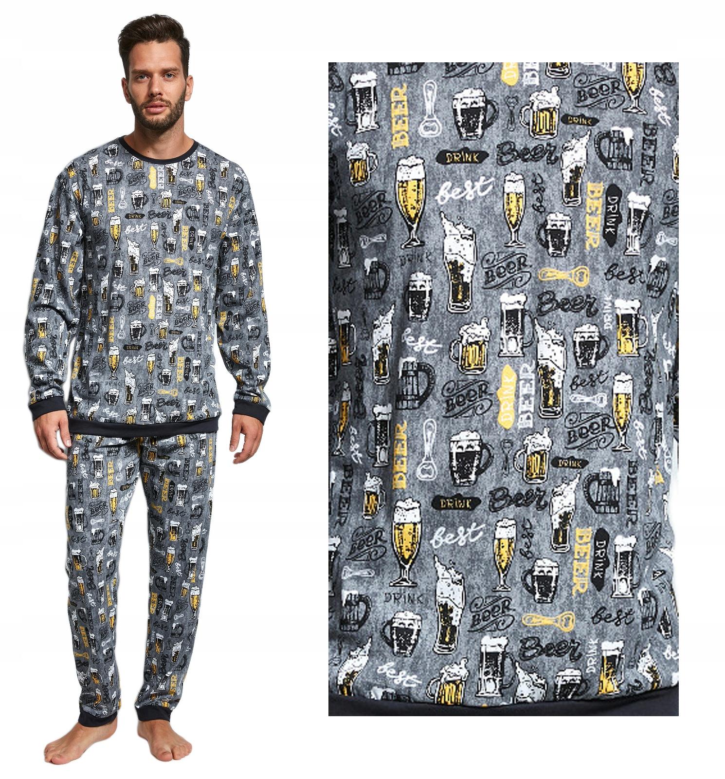 fda536dcdf0807 piżama męska CORNETTE 195/123 PIWO kufel / S - 7488629965 ...
