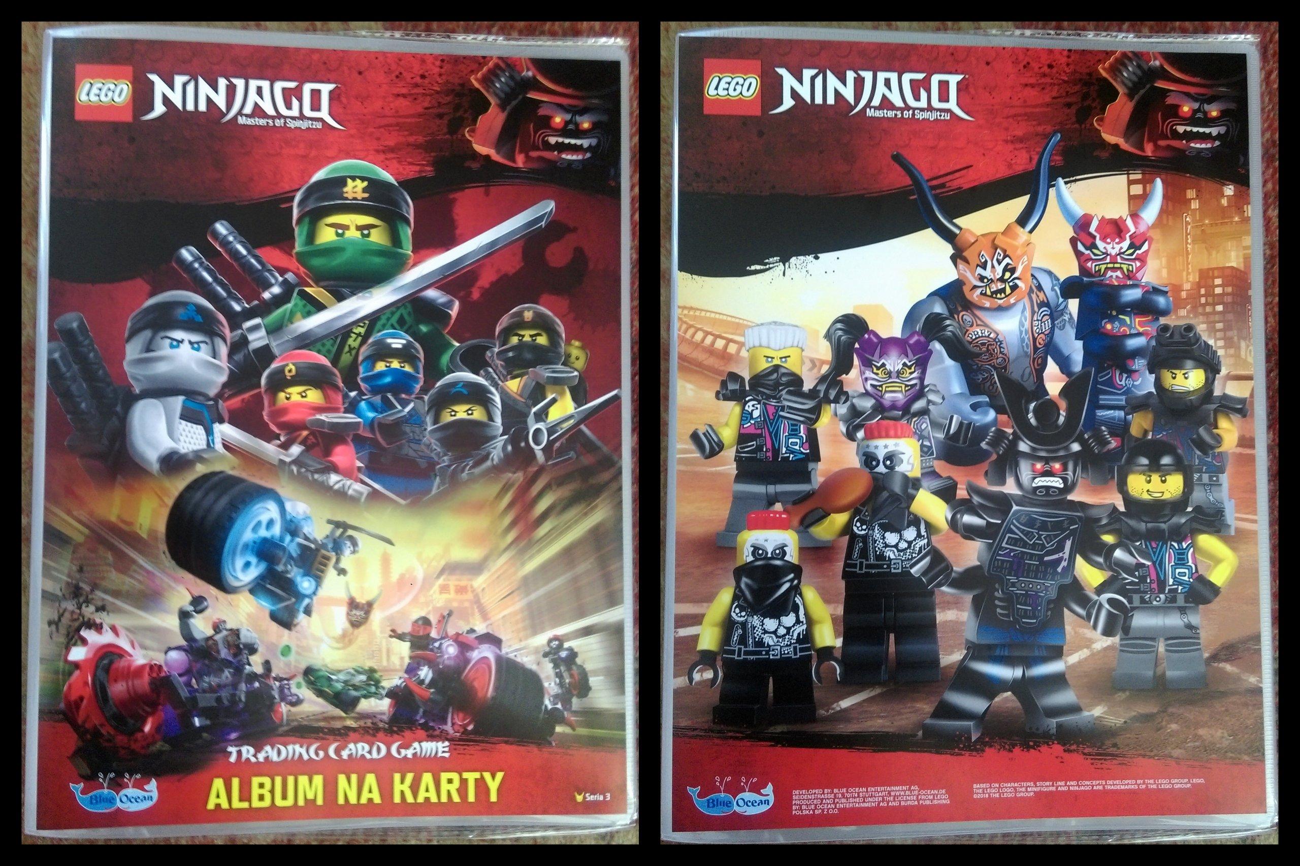 Album Na Karty Lego Ninjago Seria 3 Zasadyplansz 7284104212