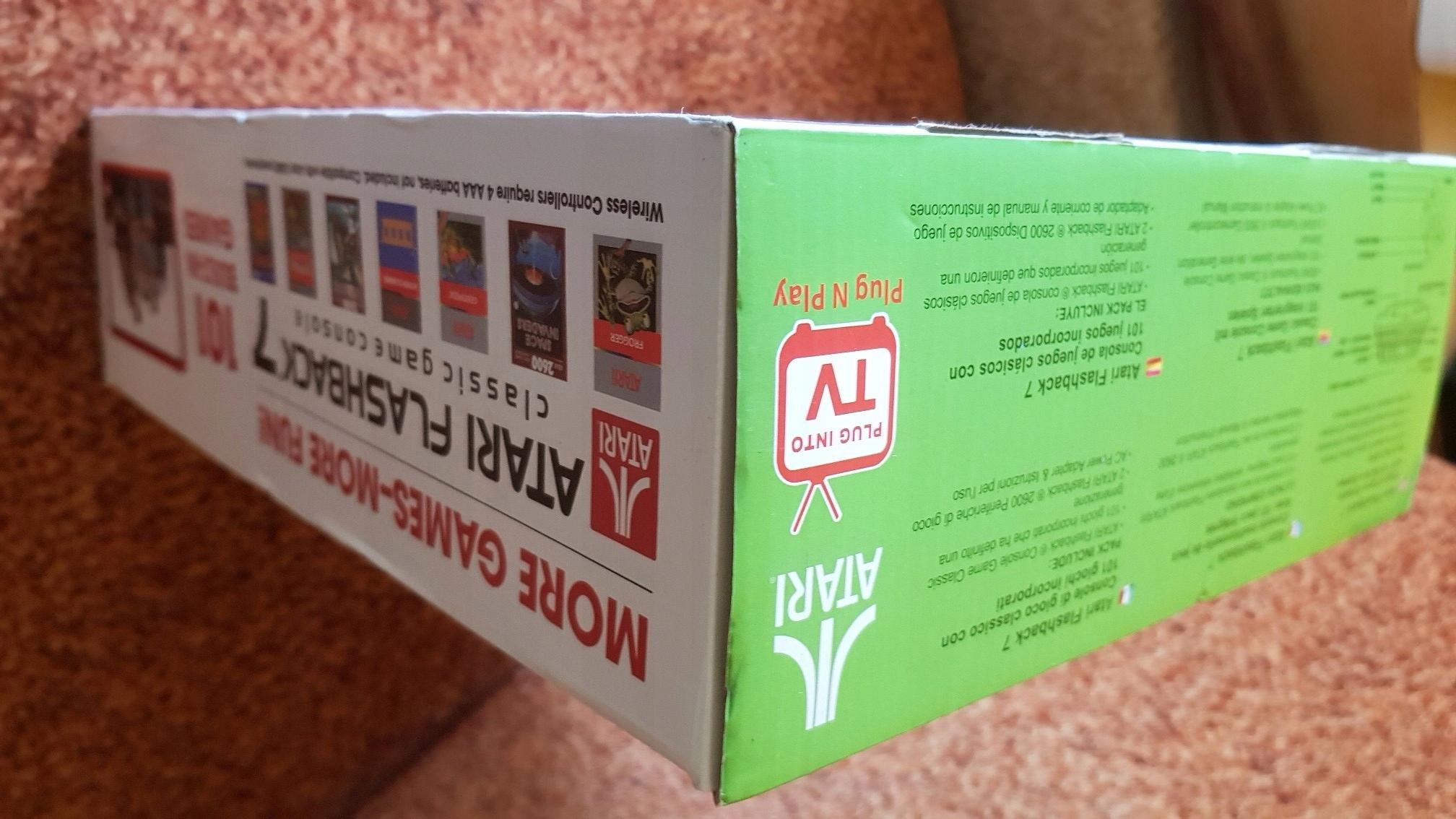 Atari Flashback 7 Box Nowa 7558917890 Oficjalne Archiwum Allegro