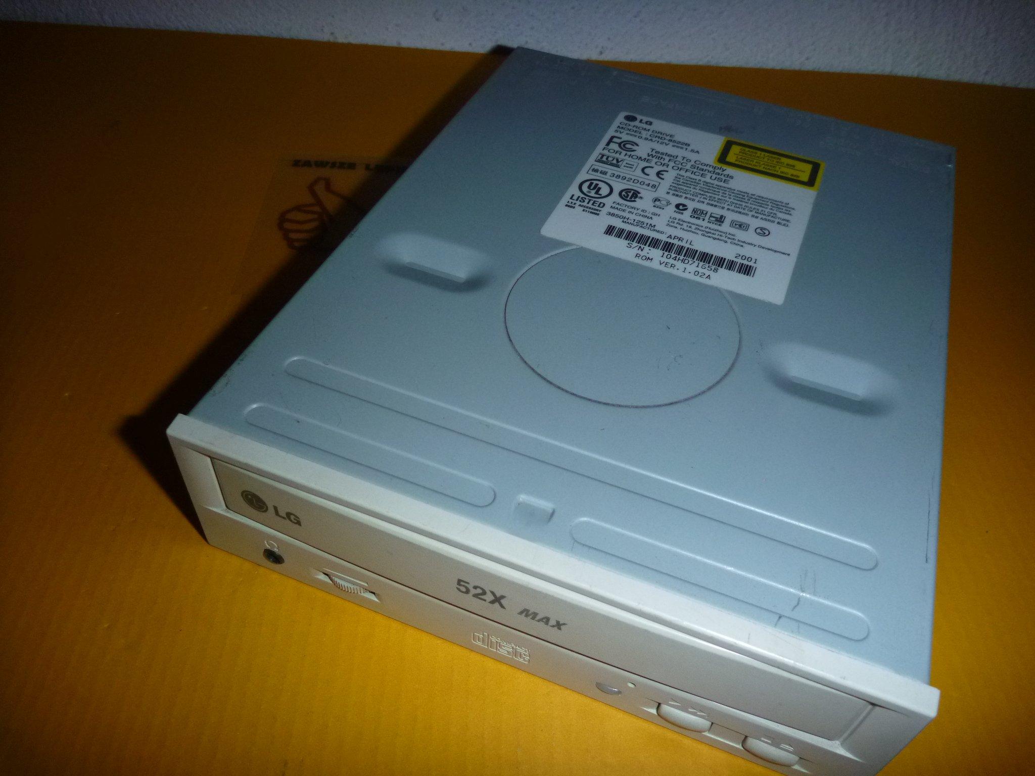 LG CRD-8522B WINDOWS XP DRIVER