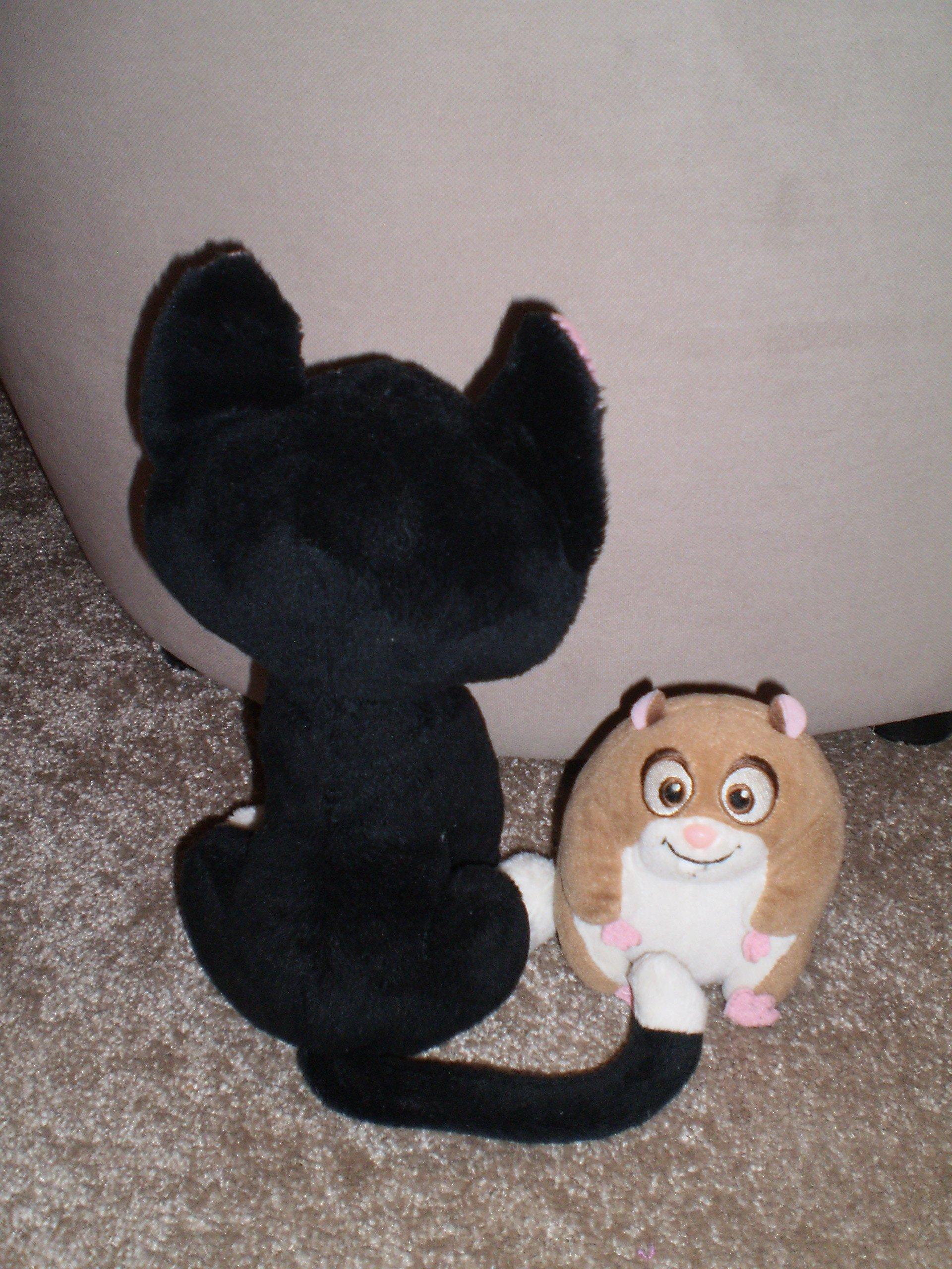 Pies Piorun Kot Marlenka 27cm Adylla 13cm Disney 7246587258