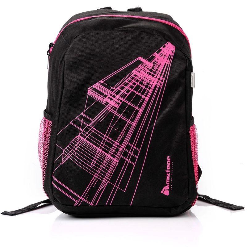 eb0ced4d0695d Plecak Meteor Hathor 75459 czarno-różowy - 7196116692 - oficjalne ...