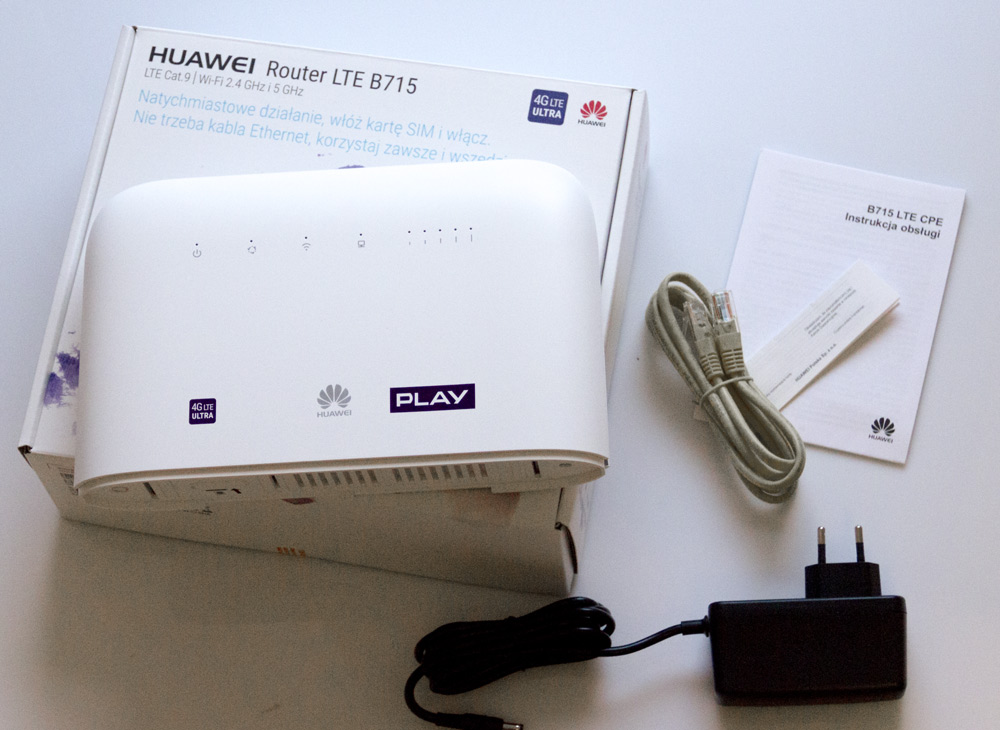 Huawei B715 (kat  9) - lepszy niż model B618  Nowy